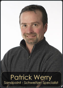 Patrick Werry, Agent for Century 21 RiverStone located in the Sandpoint Office